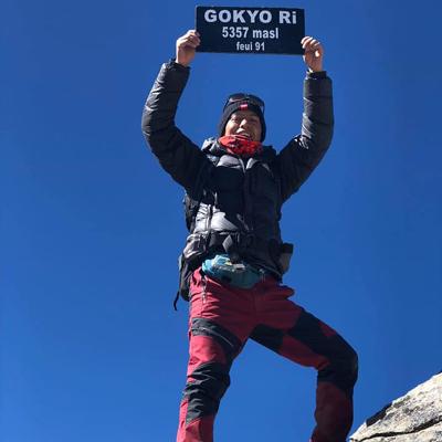nera simkhada, trekking guide